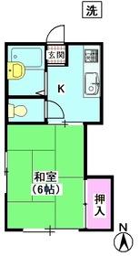 ひかりコーポ 101号室
