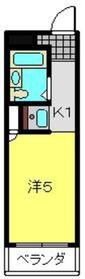 ヨコハマベイストロベリーインターナショナル1階Fの間取り画像