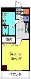 モンセラート横浜関内7階Fの間取り画像