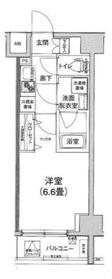 アイル横浜ベイサイド8階Fの間取り画像
