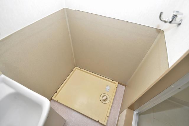 サンビレッジ・ラポール 室内に洗濯機置き場があれば雨の日でも安心ですね。