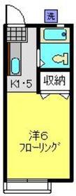 白楽駅 徒歩11分2階Fの間取り画像