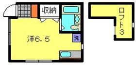 CASA白楽2階Fの間取り画像