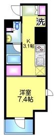 アトラス秋葉原カルモード7階Fの間取り画像