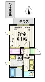ララ新江古田1階Fの間取り画像