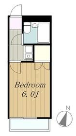 マーガレットハウス2階Fの間取り画像