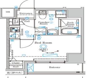 井土ヶ谷駅 徒歩5分1階Fの間取り画像