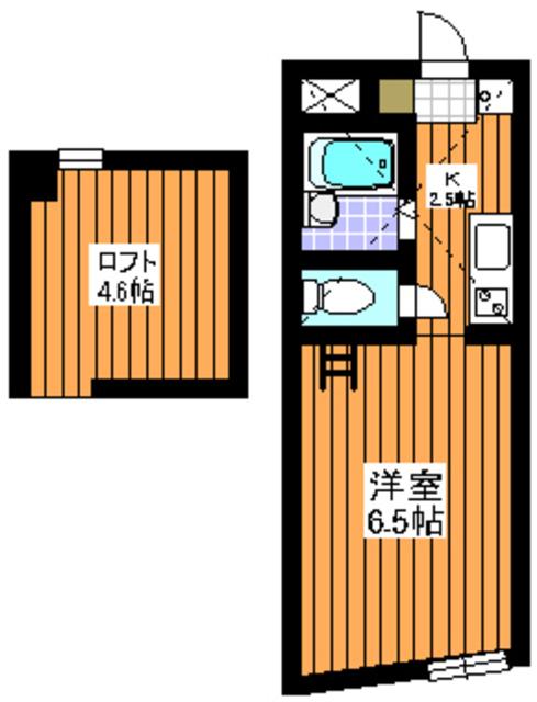 東武練馬駅 徒歩4分間取図