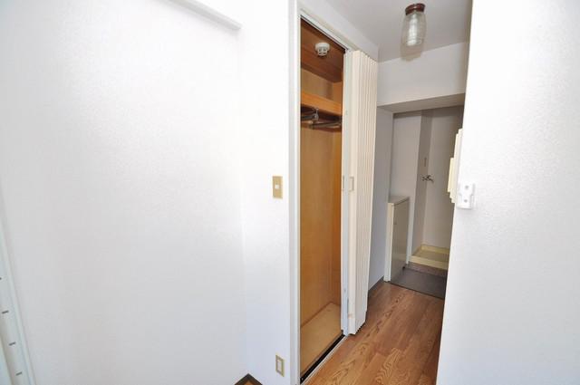 シティビラ新深江 もちろん収納スペースも確保。おかげでお部屋の中がスッキリ。