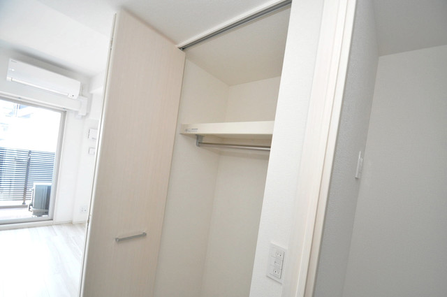 アドバンス大阪バレンシア もちろん収納スペースも確保。いたれりつくせりのお部屋です。