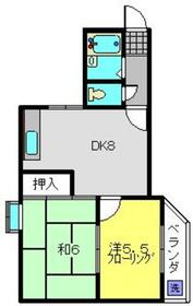 CASA VIOLETTE4階Fの間取り画像