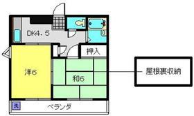 武蔵中原駅 徒歩19分3階Fの間取り画像