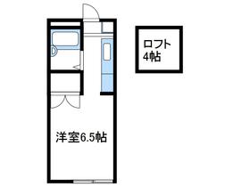 スペースぬるみず2階Fの間取り画像