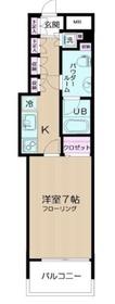 日神デュオステージ横濱マリンスクエア2階Fの間取り画像