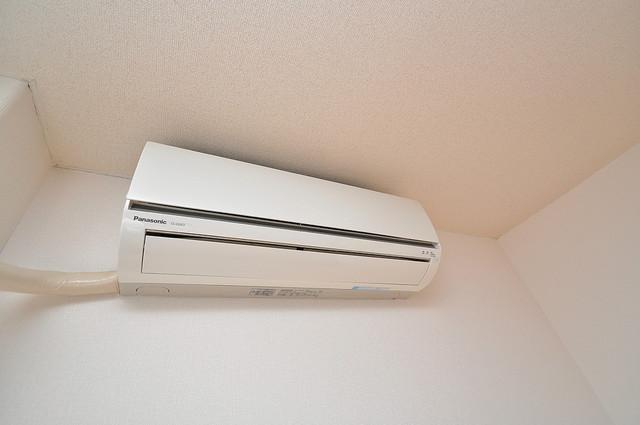 YOUハイム寿Ⅱ番館 エアコンが最初からついているなんて、本当にうれしい限りです。