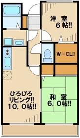 南林間駅 徒歩20分7階Fの間取り画像