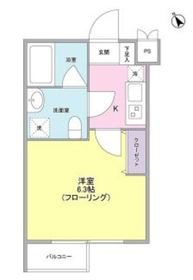 ヒルサイド二子玉川3階Fの間取り画像