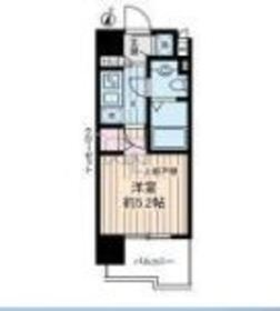 川崎新町駅 徒歩15分11階Fの間取り画像