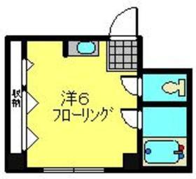 星川駅 徒歩9分1階Fの間取り画像
