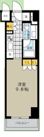 八丁堀駅 徒歩1分7階Fの間取り画像