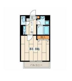星川駅 徒歩8分2階Fの間取り画像