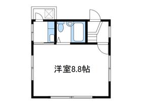 ウィンディハイツⅡ1階Fの間取り画像