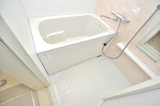 メゾンサンヴァレー ゆったりサイズのお風呂は落ちつける癒しの空間です。