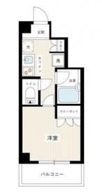 VIVRE横浜白楽弐番館6階Fの間取り画像