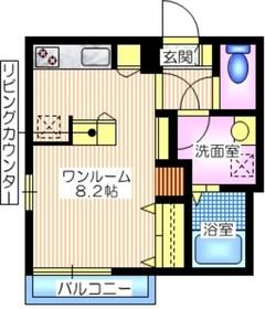 a la Maison ア ラ メゾン1階Fの間取り画像