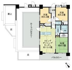 厚木駅 徒歩4分6階Fの間取り画像
