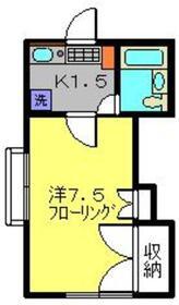 ヴァイルヘンハイム2階Fの間取り画像