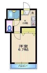 サザンレジデンス3階Fの間取り画像