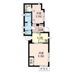 レフィナード山王 101号室