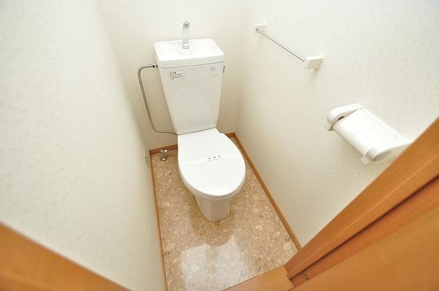 太陽マンション スタンダードなトイレは清潔感があって、リラックス出来ます。