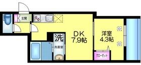 J.maison ジェイメゾン1階Fの間取り画像