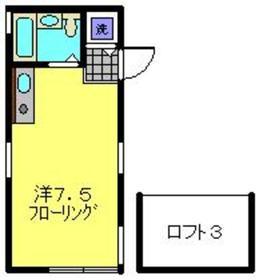 ハイムメイ1階Fの間取り画像