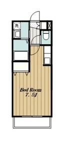 ラピュタ5階Fの間取り画像