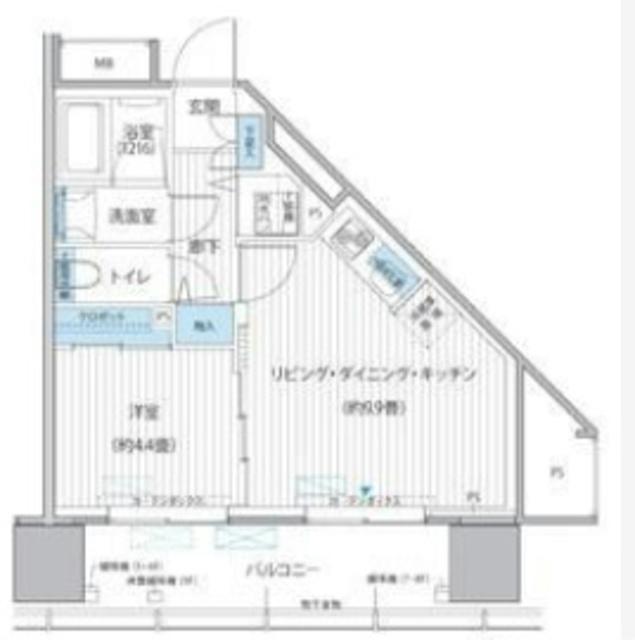 桜ヒルズ九段北間取図