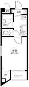 アーバ・ヒルズ高円寺5階Fの間取り画像