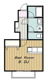 ベルシャトレ1階Fの間取り画像