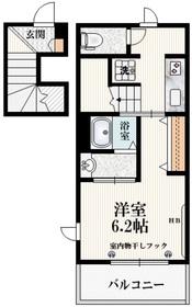 アトリオ2階Fの間取り画像