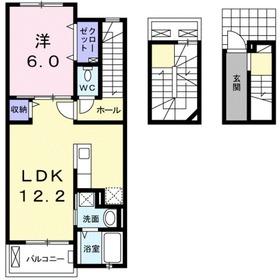 セッチソン・カシワ3階Fの間取り画像