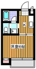 下赤塚駅 徒歩10分3階Fの間取り画像