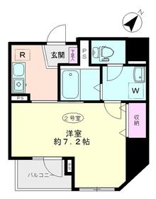 ラメールフジヤ3階Fの間取り画像