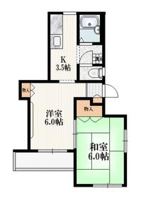 長田邸2階Fの間取り画像