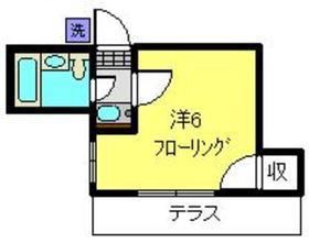 大倉山駅 徒歩12分1階Fの間取り画像