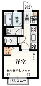 若宮一丁目建築計画2階Fの間取り画像