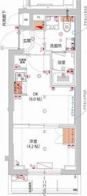 (仮)武蔵小杉フォレストスクエアレジデンス2階Fの間取り画像