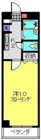 オリーブフォーレスト1階Fの間取り画像