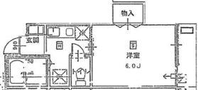 山手駅 徒歩8分1階Fの間取り画像